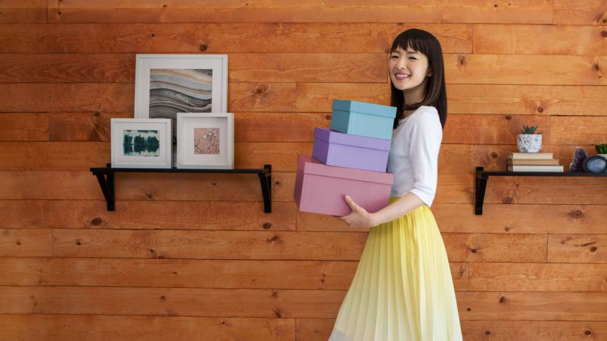 tidying up with kondo marie by netflix